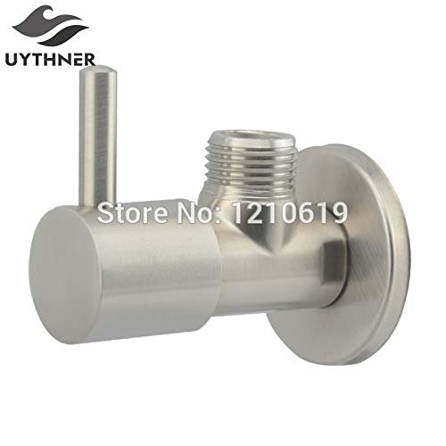 | Filling Valves | Uythner Newly US Modern Simple Stainless Steel Angle Valve Water Filling Valve Brushed Nickle | by NAHASU