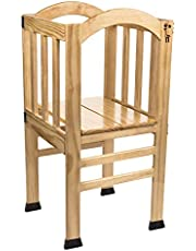 True Growth - True Tot Tower - Kids or Toddler Step Stool - Wood Construction – Varnished