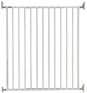Storkcraft Easy Walk Thru Tall Metal Safety Gate White