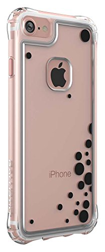 Ballistic Jewel Essence Case for Standard Size 4.7-Inch Apple iPhone 8/7/6S/6 - Clear/Black Bubbles - Not Compatible with iPhone Plus 5.5-Inch Screen Size Smartphones