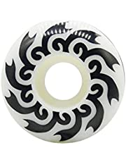 Basage 1Pcs 52mm Pattern Skatboard Wheel High Hardness PU Wheel Double Rocker Perfusion Wheel for Skateboard Accessories