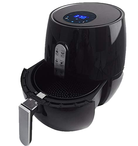 NANXCYR Air Fryer Health Fryer Oil Free and Low Fat Cooking, 1350W, 3.6L Black,220V
