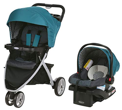 Graco Pace Lightweight Travel System, Quincy