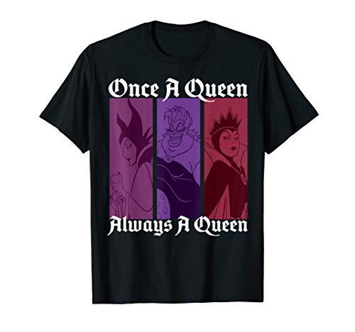 Disney Villains Once A Queen Always A Queen Graphic T-Shirt