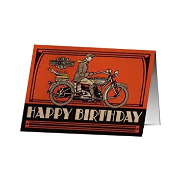 Harley davidson birthday cake birthday card amazon car harley davidson birthday cake birthday card bookmarktalkfo Image collections
