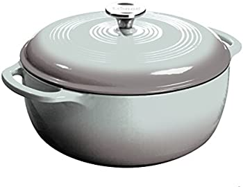 Lodge EC6D05 Enameled Cast Iron Dutch Oven 6-Quart