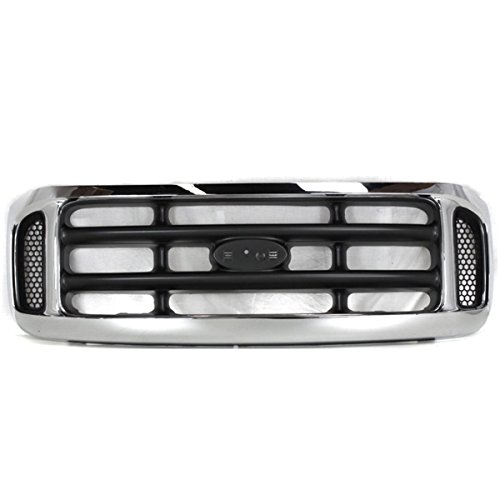 (99-04 F-Series SuperDuty Pickup Truck Front Grill Grille Assembly 1C3Z8200BAA )