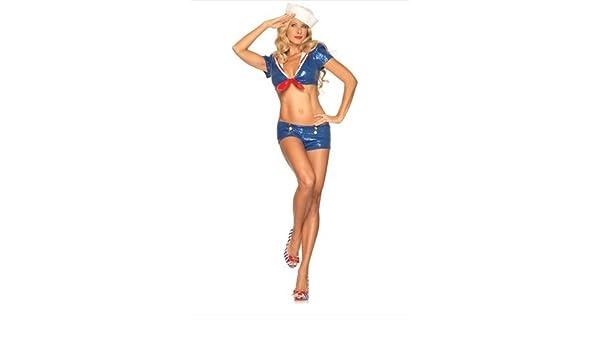 Generique - Disfraz Marinera Sexy Mujer: Amazon.es: Juguetes y juegos