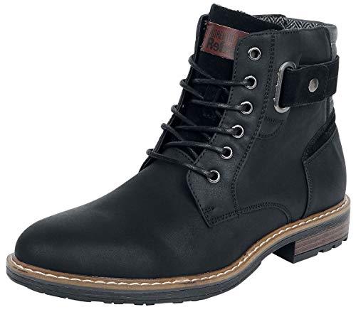 Boot Boot Boot Anfibi Black Refresh Nero EU41 Stivali Stivali Stivali wT6nf5q