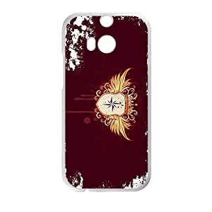 Wings Badge High Quality Custom Protective Phone Case Cove For HTC M8