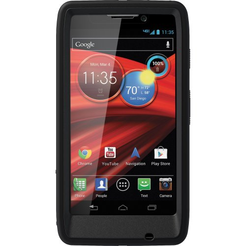 OtterBox Defender Series Case for Motorola RAZR MAXX HD - Retail Packaging - Black - Will Only Fit the RAZR MAXX HD / Not the RAZR -