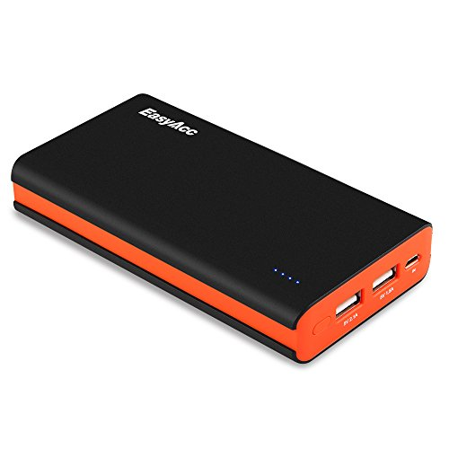 EasyAcc-Classic-15000mAh-Power-Bank-Portable-External-Battery-Charger-for-Smartphones-Tablets-Bluetooth-Speaker-Black-and-Orange