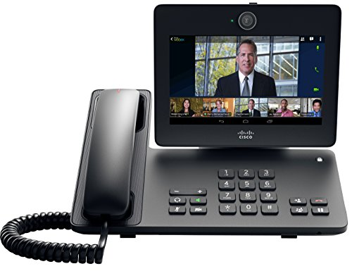 Cisco CP-DX650-K9 7-inch LCD Touchscreen Desktop Collaboration Experience (Video Conferencing, Android OS, VoIP Phone, Requires Existing Cisco UCM License)