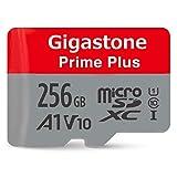 Gigastone 256GB MicroSD Card A1 V10 UHS-I U1 Class 10 SDXC Memory Card