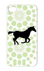 Horse Black Dirtproof For Iphone 5 Horses Animals Nature Case