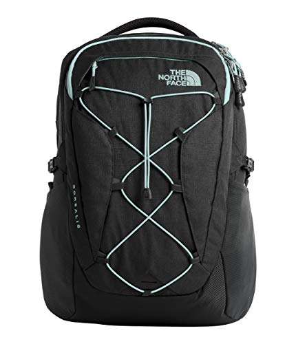 The North Face Women's Borealis, Asphalt Grey Light Heather/Windmill Blue, - Laptop Asphalt