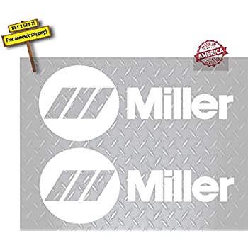Amazon.com: Miller Welding Hobart Racing Decal Sticker Sheet of 8 ...