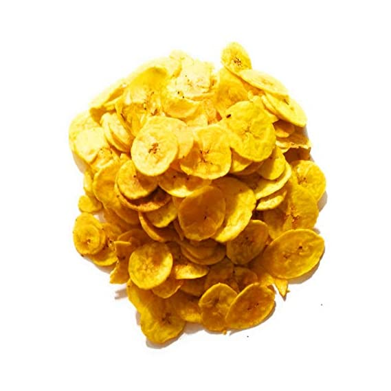 KING's BITE Fresh Home Made Kerala Banana Chips (1 Kg)-Pack of 2