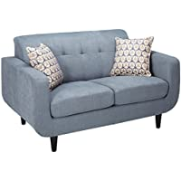 Coaster Home Furnishings Coaster 505202 Loveseat, Grey, Stansall Collection
