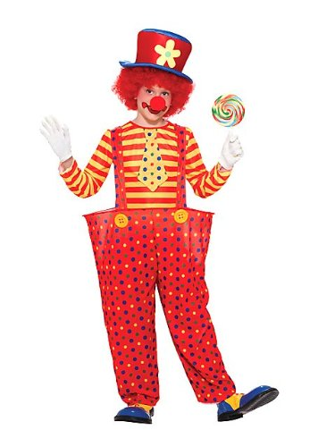 Big Boys' Hoopy The Clown Costume