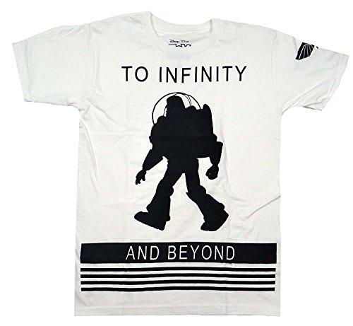 Disney Pixar Toy Story Buzz Lightyear To Infinity T-shirt (Extra Large, White) (Toy Story T Shirt)