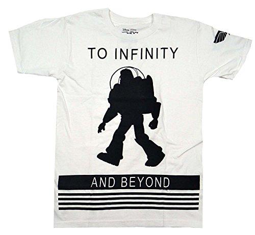 Disney Pixar Toy Story Buzz Lightyear To Infinity T-shirt (Extra Large, White) (Toy Story Shirts)