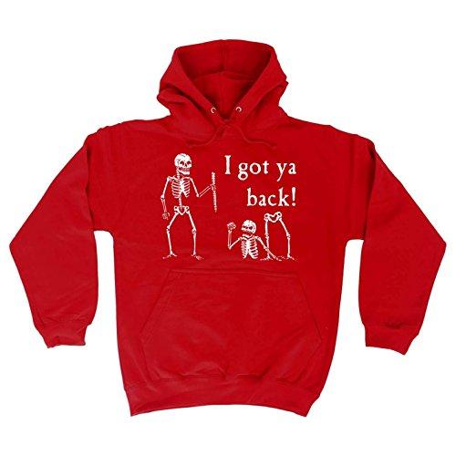 I Back Ya HOODIE 123t Got Red Skeleton dW1qpzSxUw