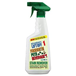 Motsenbocker\'s Lift-Off MTS 40501 MOT40501CT No.1 Food Drink and Pet Stain Remover, 22 oz. Trigger Spray (Pack of 6)