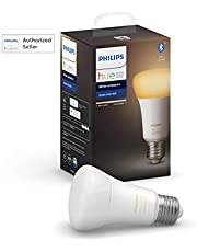 Philips Hue UAE White Ambiance LED Smart Bulb, Bluetooth & Zigbee compatible (Hue Bridge Optional ), Works with Alexa & Google Assistant, 1 Year Warranty