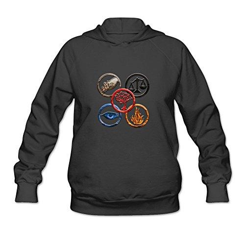 Price comparison product image StaBe Women's Divergent Customized Hoodies Sweatshirt Black Size XXL