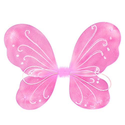 Butterfly Craze Fairy Butterfly Wings Party Favor (pink)]()