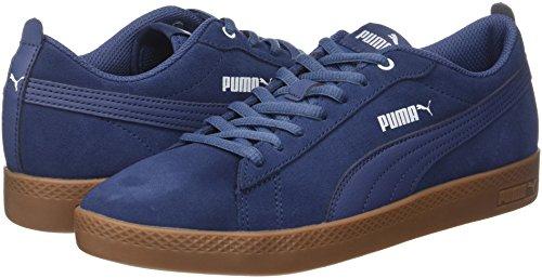 Da Indigo blue Ginnastica Scarpe Sd Wns blue Blu Smash Puma V2 Basse Indigo Donna wY6XO7q