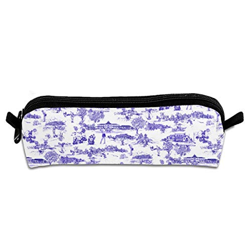 FRTSFLEE Hamptons Golf Pencil Bag Pencil Case Portable Stylish Pen Bag Multifunctional School Supplies for Watercolor Pens & Markers for Students & ()