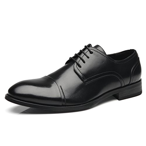 Men Delicacy 1 Zapatos Men Lace de Men For Hombre Shoes Modern Comfortable black Shoes Dress Formal Toe Faranzi Dress Shoes For Up Business Cap Classic Oxford WqBBSg78