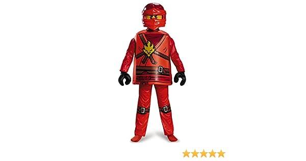 LEGO Ninjago 98105 K Kai Deluxe Disfraz (Tamaño Mediano): Amazon ...
