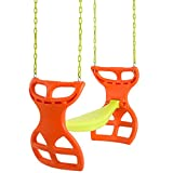 Swingan  - Two Seater Glider Swing - Vinyl Coated Chain - Hardware for Intallation Included