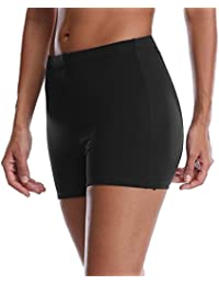 Women's Stretch Swim Board Shorts Quick Dry Athletic...