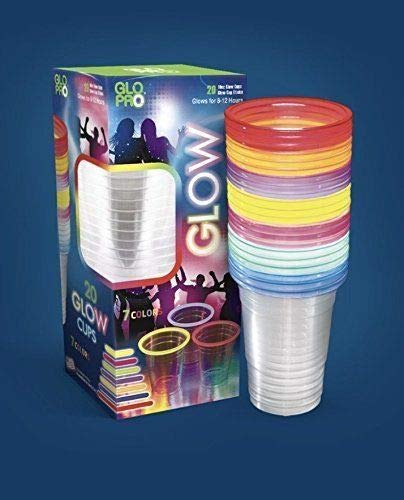 Glow Party Neon Glow Glow Cups Glowing Party Cups Glow Sick Party Cups Neon Cups 7 Colors