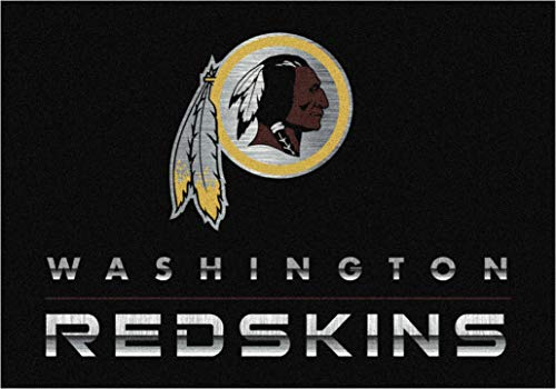 Milliken 4000199081 NFL Chrome Washington Redskins 3'10