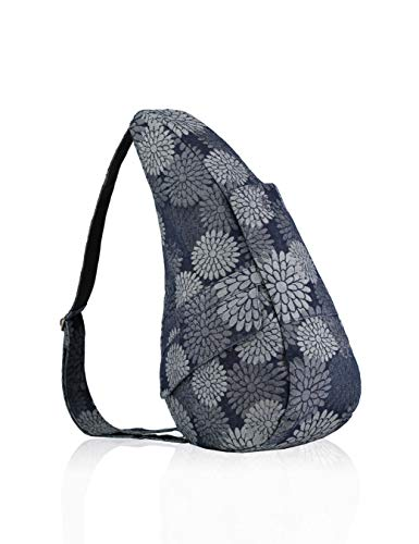AmeriBag Healthy Back Bag tote Print Small (Flower Power Grey)