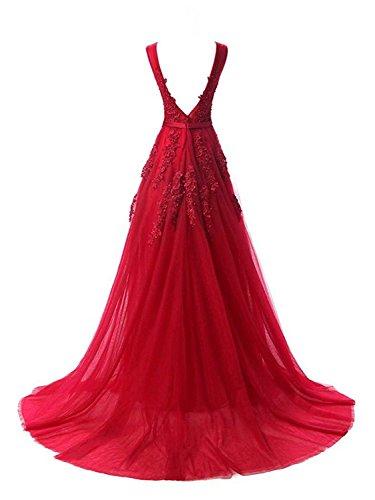Robe Robe soir bal de PRTS Tulle Robe de A demoiselle Longue de Line fote Robe de e d'honneur Champagne partie Dos nu Robe de nxZqzZSfR