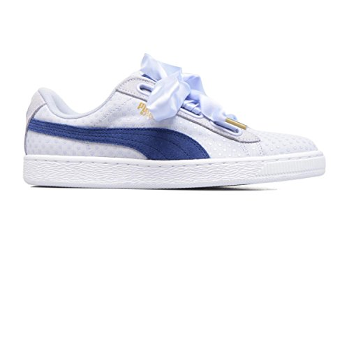 b79de833c12 Puma Basket Heart Denim Womens Trainers Light Purple - 6 UK - Buy Online in  Oman.