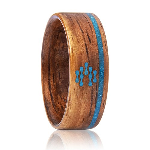 CNICK Smart NFC RFID Ring: Door Access, Manage NFC Android Devices and APPs, First Wooden Smart Ring for Men and Women