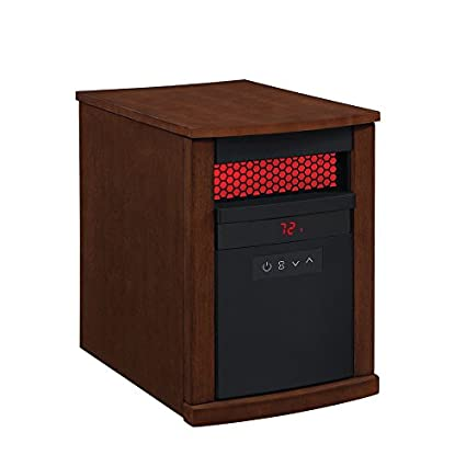 Duraflame 5,200 BTU Infrared Quartz Cabinet Electric Space Heater With  Thermostat