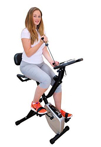 🥇 iXbike II – Nueva edición Q1 – Estación magnética de Ciclo de Ejercicio para la Parte Superior e Inferior del Cuerpo