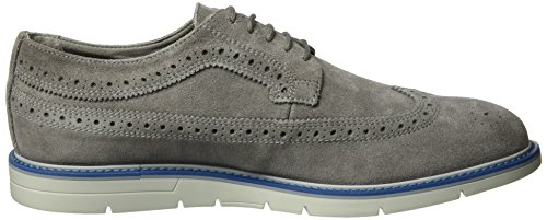 Geox Uomini E Uvet Un Accento Lace Up Brogue Grigio (anthracitec9004)