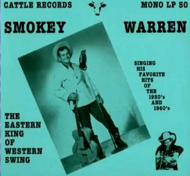 {Autograph} Smokey Warren Singing His Favorite Hits Of The 1950s and 1960s Signed LP