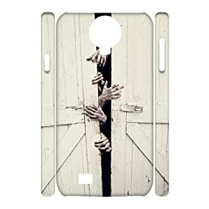 DIY The Walking Dead 3D Case, DIY 3D Protective Hard Case for samsung galaxy s4 i9500 with The Walking Dead (Pattern-4)