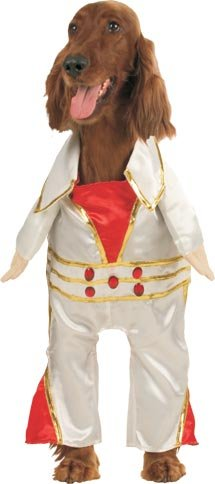 Pet Elvis Dog Halloween Costume (Size: Large)