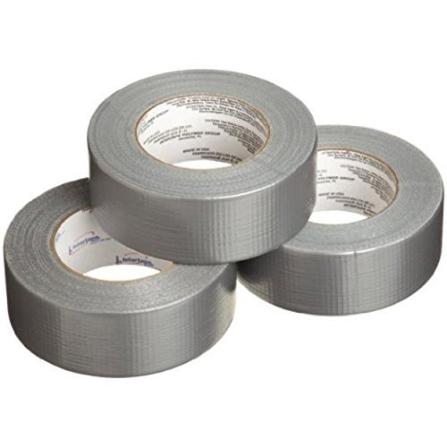 IPG AC10 7 Mil Fix-It DUCTape 1.88'' x 10 yd, Silver, 3-Pack